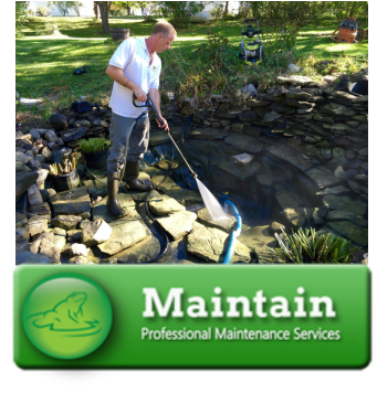 Koi Pond Cleaning & Power Washing Services by Acorn In Rochester & Western (NY